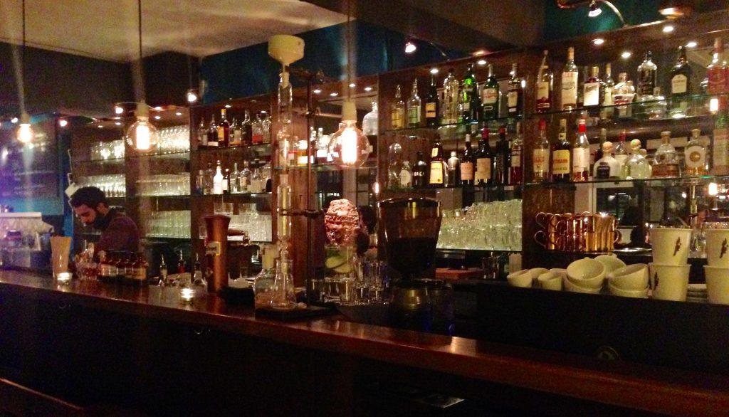 """Die Bar im """"Das Mehl"""""""