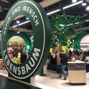 Lebensbaum Messestand bei der Biofach 2017