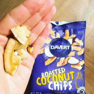 Roasted Coconut Chips von Davert