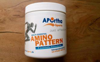 Verpackung APOrtha Sports Amino Pattern