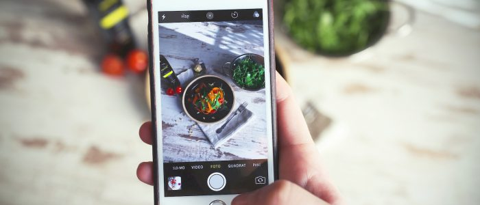iPhone wie es eine Speise fotografiert - Food Photography Tricks